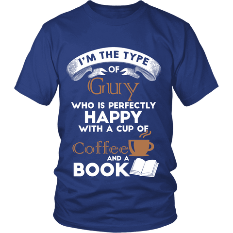I'm a Coffee Guy-For Reading Addicts