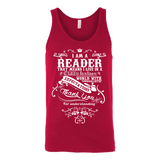 I am a reader Unisex Tank-For Reading Addicts
