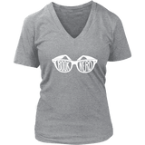 Book Nerd V-neck-For Reading Addicts