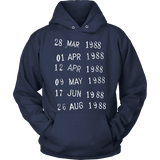 Library Stamp Hoodie-For Reading Addicts