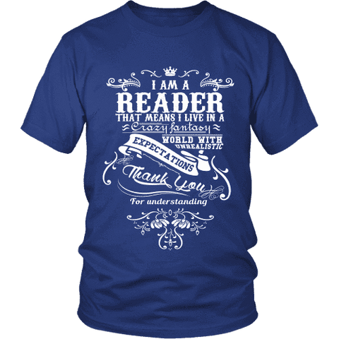I am a reader Unisex T-shirt - Gifts For Reading Addicts