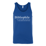 Bibliophile Unisex Tank-For Reading Addicts