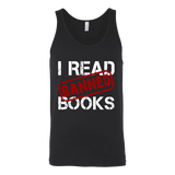 I Read Banned Books Unisex Tank Top-For Reading Addicts