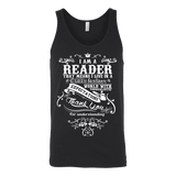 I am a reader Unisex Tank - Gifts For Reading Addicts