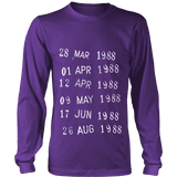 Library Stamp Long Sleeve-For Reading Addicts