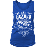 I am a reader Womens Tank - Gifts For Reading Addicts