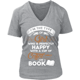 Coffee & Books - V-neck-For Reading Addicts