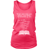 They say you are what you read Womens Tank - Gifts For Reading Addicts