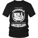 I dont have insomnia I'm suffering from Librocubicularism, Unisex T-shirt - Gifts For Reading Addicts