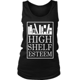 High Shelf Esteem Womens Tank - Gifts For Reading Addicts