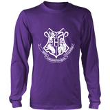 The Hogwarts Crest Long Sleeve-For Reading Addicts