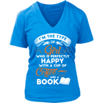 Coffee & Books - V-neck - Gifts For Reading Addicts
