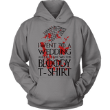 Game of Thrones Bloody T-shirt Hoodie - Gifts For Reading Addicts