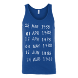 Library Stamp Unisex Tank - Gifts For Reading Addicts