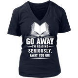 Away you go - V-neck-For Reading Addicts