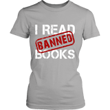 I Read Banned Books Fitted T-shirt-For Reading Addicts