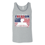 Freadom Unisex Tank - Gifts For Reading Addicts