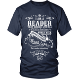 I Am a Reader - Gifts For Reading Addicts