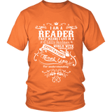 I am a reader Unisex T-shirt-For Reading Addicts