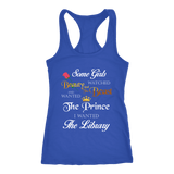 Beauty And The Beast Tank Top-For Reading Addicts