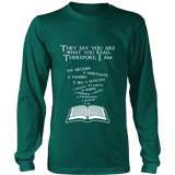 They say you are what you read Long Sleeve-For Reading Addicts