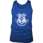 The Hogwarts Crest Mens Tank - Gifts For Reading Addicts