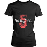 So it Goes T-shirt - Gifts For Reading Addicts