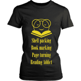 The reading Nirvana T-shirt-For Reading Addicts