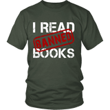 I Read Banned Books Unisex T-shirt-For Reading Addicts