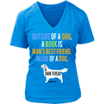 Outside of a Dog, a book is... - Gifts For Reading Addicts
