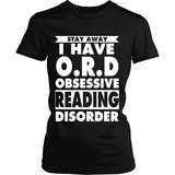 Stay Away i have O.R.D - Gifts For Reading Addicts