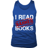 I Read Banned Books Mens Tank Top - Gifts For Reading Addicts