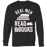 Real men read books - Gifts For Reading Addicts