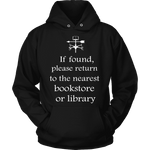 If found return to bookstore-For Reading Addicts