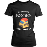 I've Got really Big Books  Fitted T-shirt - For reading addicts - T-shirt - 1