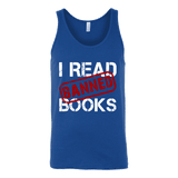 I Read Banned Books Unisex Tank Top - Gifts For Reading Addicts