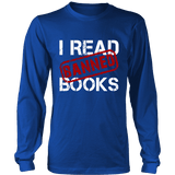 I Read Banned Books Long Sleeves - Gifts For Reading Addicts