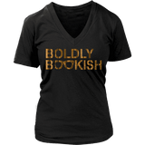 Boldly bookish V-neck-For Reading Addicts