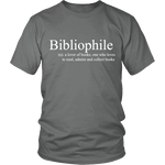 Bibliophile Unisex T-shirt - Gifts For Reading Addicts