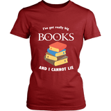 I've Got really Big Books  Fitted T-shirt - For reading addicts - T-shirt - 5