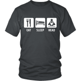Eat, Sleep, Read Unisex T-shirt-For Reading Addicts