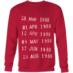 Library Stamp Sweatshirt-For Reading Addicts