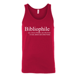 Bibliophile Unisex Tank - Gifts For Reading Addicts