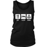 Eat, Sleep, Read Womens Tank - Gifts For Reading Addicts