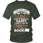 Books and Coffee Unisex T-shirt - Gifts For Reading Addicts