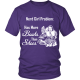 Nerd Girl Problem-For Reading Addicts