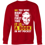 It is a book in my pocket-For Reading Addicts