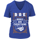 BAE, Books Are Everything V-neck - Gifts For Reading Addicts