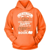 Books and Coffee Hoodie-For Reading Addicts
