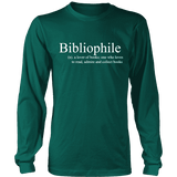 Bibliophile Long Sleeve-For Reading Addicts